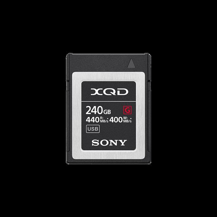 XQD G Series Memory Card 240GB, , product-image