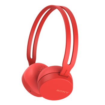 CH400 Wireless Headphones (Red), , hi-res
