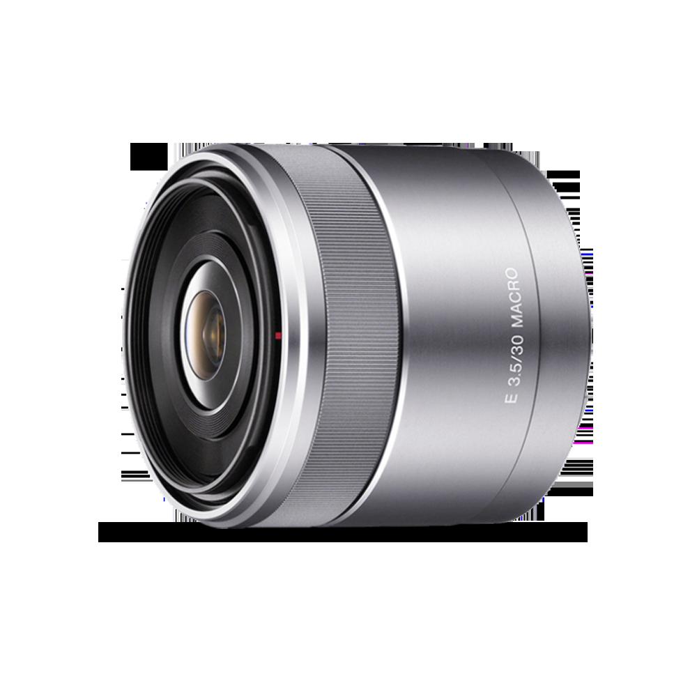 APS-C E-Mount  30mm F3.5 Macro Lens, , product-image