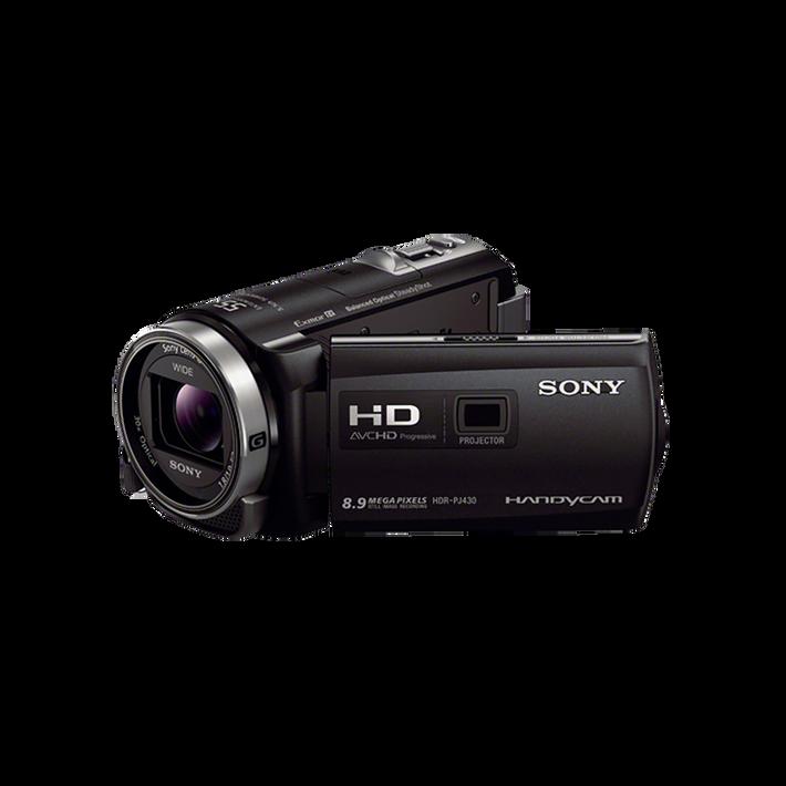 HDR-PJ430 Flash Memory HD Camcorder (Black), , product-image