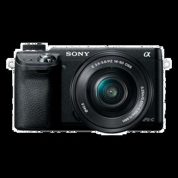 NEX-6 16.1 Mega Pixel Camera with SELP1650 Lens, , hi-res