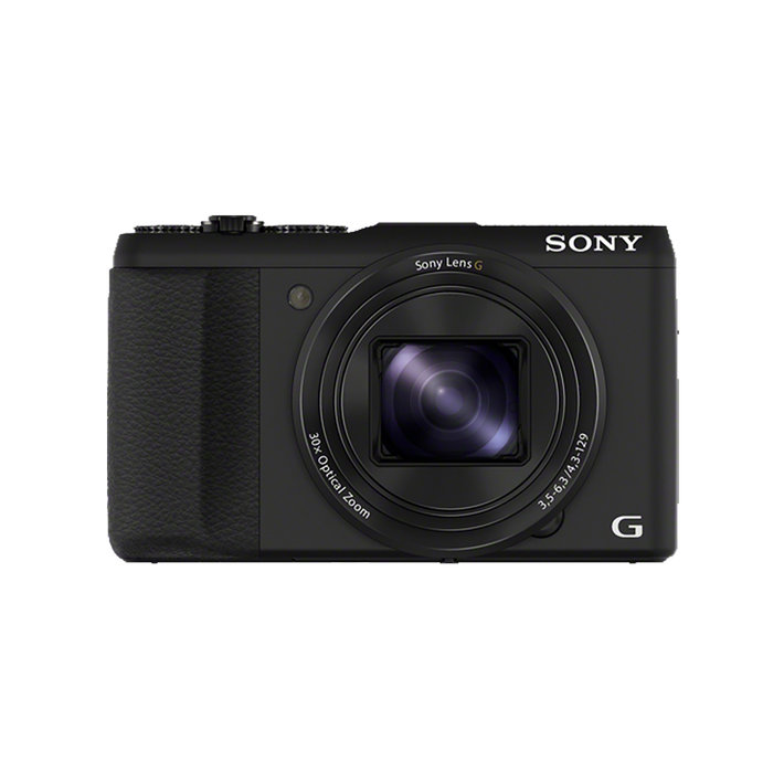 20.4 Megapixel H Series 30X Optical Zoom Cyber-shot Compact Camera (Black), , product-image