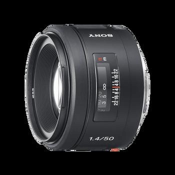 A-Mount 50mm F1.4 Lens, , hi-res