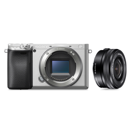 Alpha 6400 Premium Digital E-mount APS-C Camera Kit with 16-50mm Lens (Silver), , hi-res