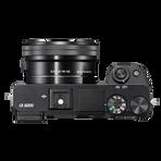 a6000 Digital E-Mount 24.3 Mega Pixel Camera with SELP1650 and SEL55210 Lens, , hi-res