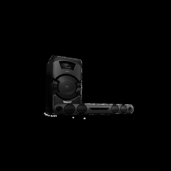MEGA BASS Mini Hi-Fi System with DVD Playback, , product-image