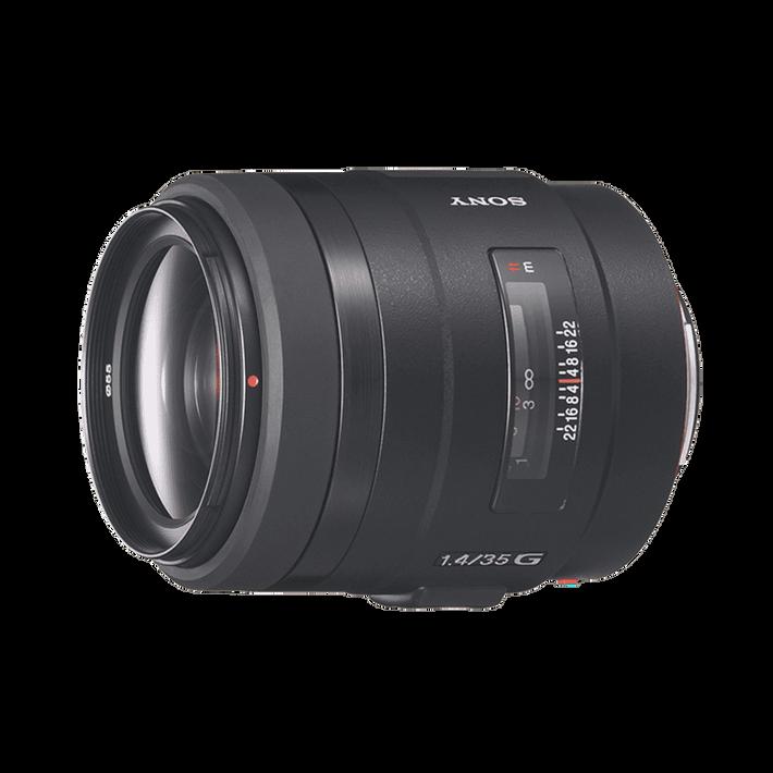 A-Mount 35mm F1.4 Portrait Lens, , product-image