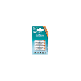 Cycle Energy Blue Rechargeable Battery AAA Size, 4-PC Pack, , hi-res