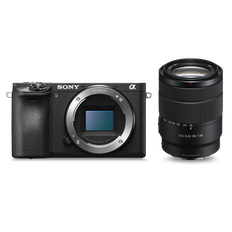 a6500 Premium E-mount APS-C Camera with 18-135mm Zoom Lens