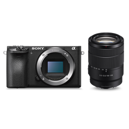 a6500 Premium E-mount APS-C Camera with 18-135mm Zoom Lens, , hi-res