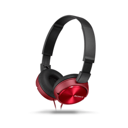 ZX310 Folding Headphones (Red), , hi-res