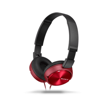 ZX310 Folding Headphones (Red), , hi-res