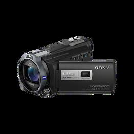 HD 96GB Flash Memory Handycam with Built-in Projector, , hi-res
