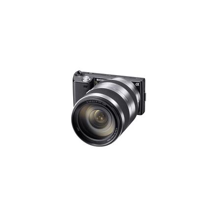 16.1 Mega Pixel Camera (Black) with SEL18200 lens, , hi-res