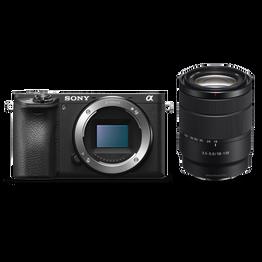 Alpha 6500 Premium E-mount APS-C Camera with 18-135mm Zoom Lens, , hi-res