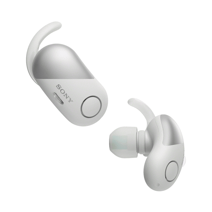 Wireless Noise Cancelling Headphones for Sports (White), , product-image