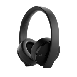 PlayStation4 Gold Wireless Stereo Headset (Black), , hi-res