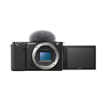 ZV-E10 | Interchangeable Lens Vlog Camera (Black), , hi-res