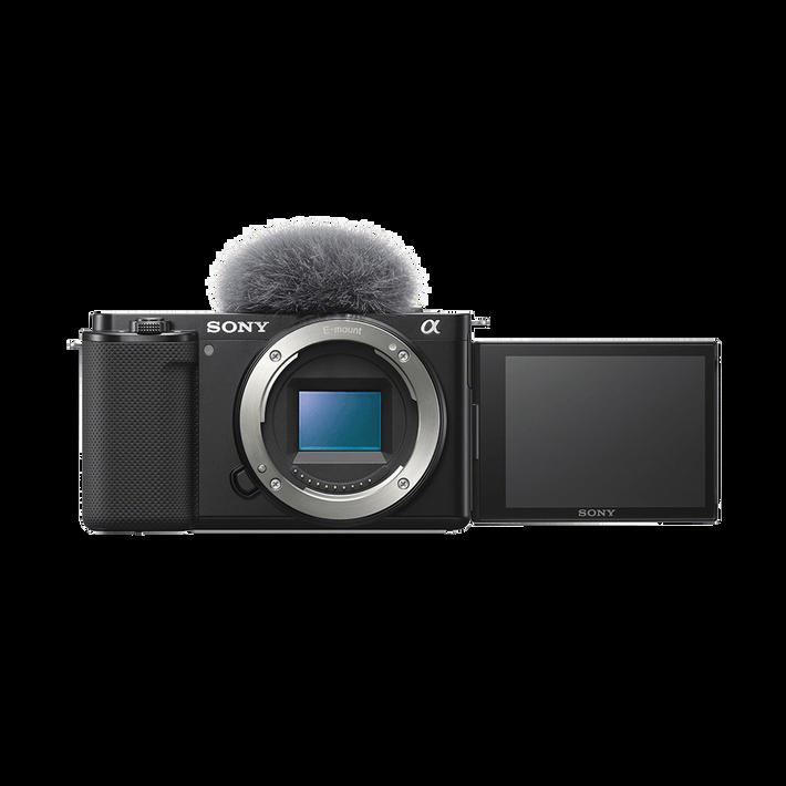ZV-E10 | Interchangeable Lens Vlog Camera (Black), , product-image