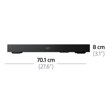 2.1ch TV Base Speaker with Bluetooth