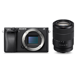 Alpha 6300 E-mount camera with 18-135mm Zoom Lens, , hi-res