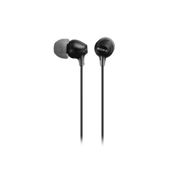 In-Ear Lightweight Headphones with Smartphone Control (Black), , hi-res