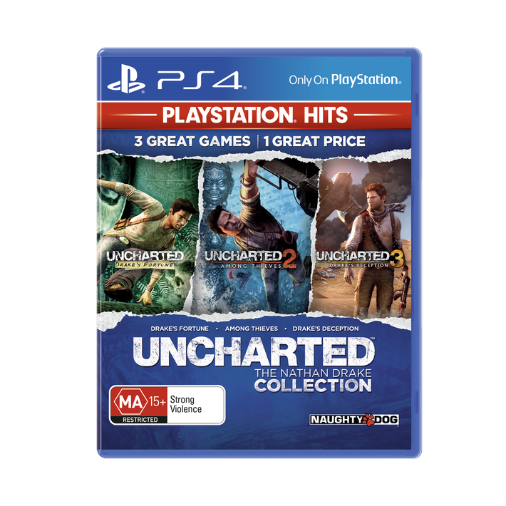 PlayStation4 Uncharted The Nathan Drake Collection (PlayStation Hits), , product-image