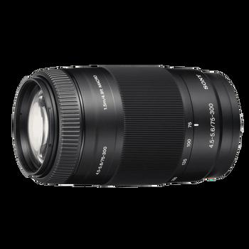 A-Mount 75-300mm F4.5-5.6 Zoom Lens, , hi-res