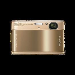 10.2 Megapixel T Series 4X Optical Zoom Cyber-shot Compact Camera (Gold), , hi-res