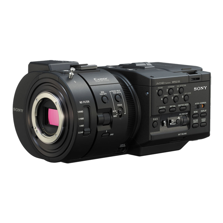 4K NXCam Digital Cinematography Camcorder, , product-image