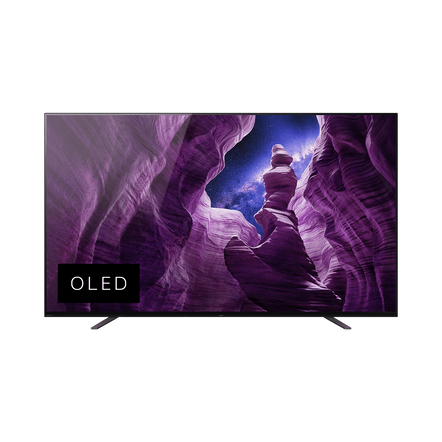 """55"""" KD-55A8H OLED 4K Android TV , , hi-res"""