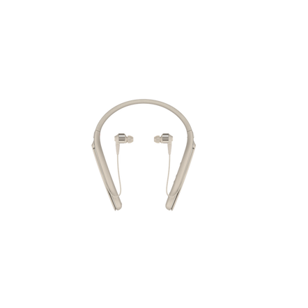 1000X Wireless Neckband Noise Cancelling Headphones (Gold) , , hi-res