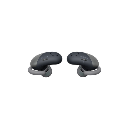 Wireless Noise Cancelling Headphones for Sports (Black), , hi-res