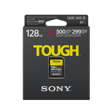 128GB SF-G Tough Series UHS-II SD Memory Card