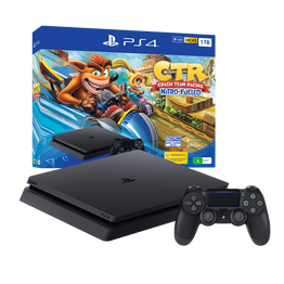 PlayStation4 Slim 1TB Console with Crash Team Racing Nitro-Fueled Bundle, , hi-res