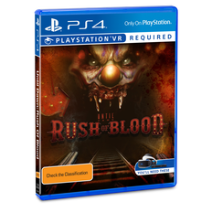 VR Until Dawn: Rush of Blood