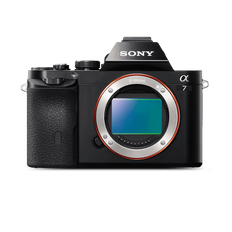 a7 Digital E-Mount Camera with Full Frame Sensor (Body only)