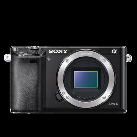 a6000 Digital E-Mount Camera (Black) with 16-50mm Len