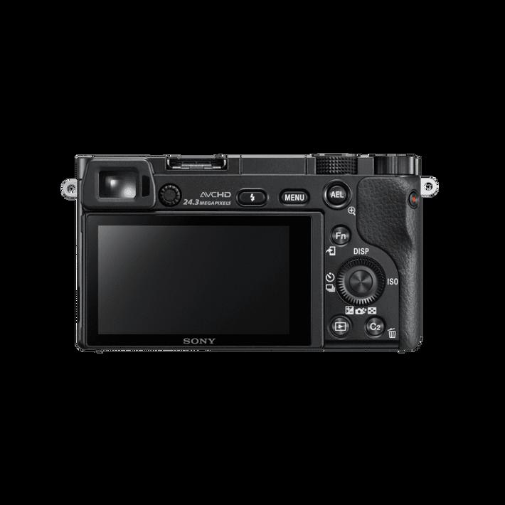 Alpha 6000 Digital E-Mount Camera (Black) with 16-50mm Lens, , product-image