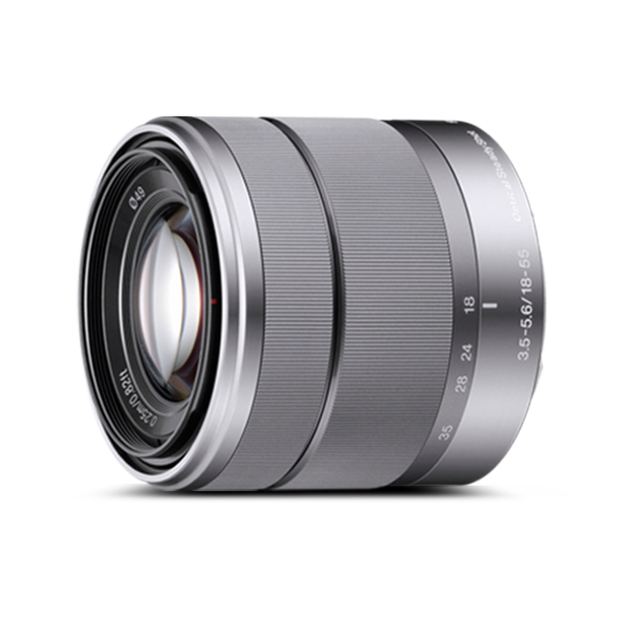 E-Mount 18-55mm F3.5-5.6 OSS Lens, , product-image