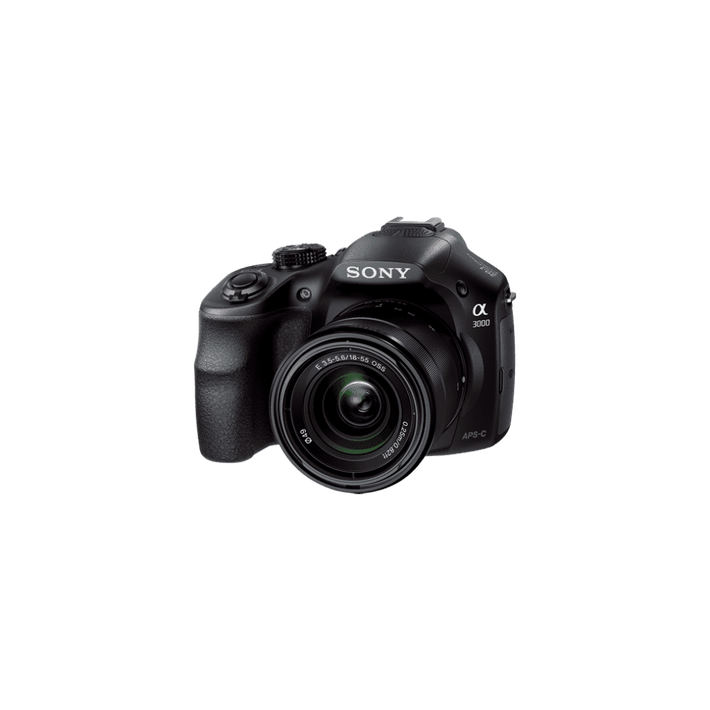 a3000 Digital E-mount 20.1 Mega Pixel Camera with SEL 1855 Lens, , product-image