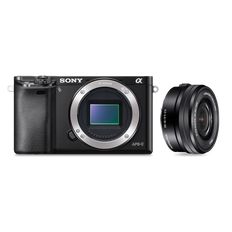 a6000 Digital E-Mount 24.3 Mega Pixel Camera with SELP1650 Lens
