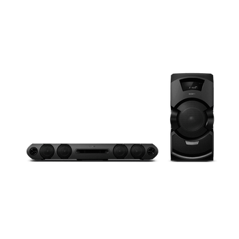 MEGA BASS Mini Hi-Fi System with DVD Playback, , hi-res