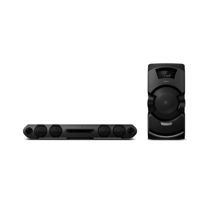 MEGA BASS Mini Hi-Fi System with DVD Playback, , product-image