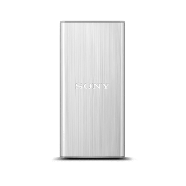 256GB USB 3.0 External Solid State Drive (Silver), , product-image