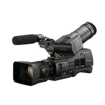 NEX-FS100P Digital Super 35mm Professional Camcorder (18-200mm Lens), , hi-res