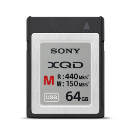 XQD M Series 64GB Memory Card