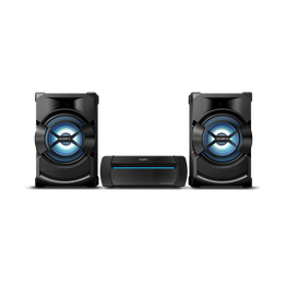 High Power Mini Hi-Fi System with Bluetooth