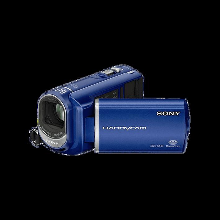 Hybrid SX40 4GB Handycam Camcorder (Blue), , product-image