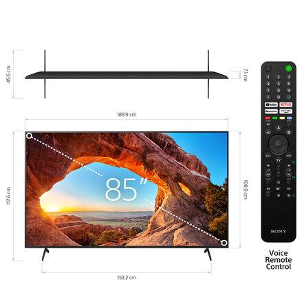 "85"" X85J   4K Ultra HD   High Dynamic Range (HDR)   Smart TV (Google TV), , hi-res"